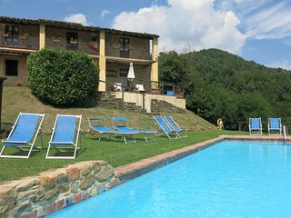4 bedroom Villa in Campori, Tuscany, Italy : ref 5651278