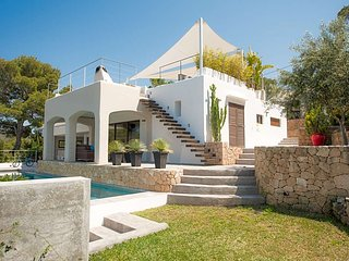 5 bedroom Villa in Cala Tarida, Balearic Islands, Spain : ref 5669362