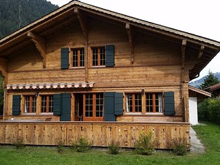 Sweet and Modern Chalet just outside of Gstaad