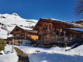 Luxurious & Cozy fully serviced Twin Chalets
