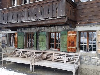 Cosy authentic Chalet in Gsteig bei Gstaad