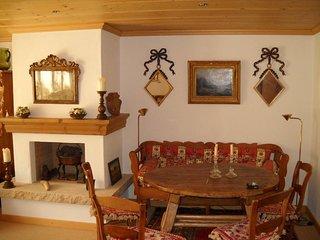 Ideally located ground floor flat in saanen center