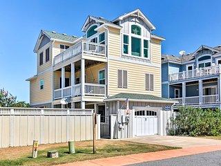 NEW! Oceanside Corolla Home w/Hot Tub & Beach Path