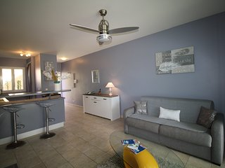 Appartement moderne et cosy 'LA TURQUOISE' en rez de jardin