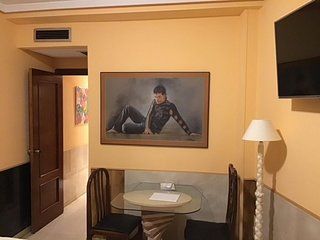Studio apartment in Madrid with Internet, Air conditioning, Lift, Washing machin