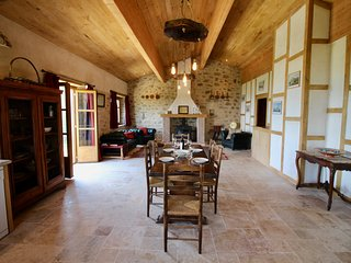 Gite Carlit at La Taillede; rustic luxury with private hot tub