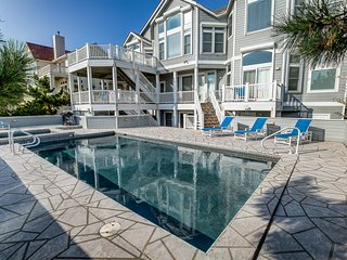 Celestial Seasuns | Oceanfront | Private Pool, Hot Tub | Corolla