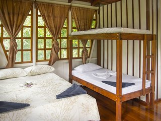 Trogon Private Family Cabana with Balcony