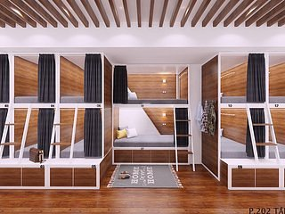 D'annam Hanoi Hostel - Bedroom 6