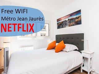 Fantastic cosy studio - Metro Jean Jaures
