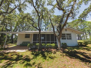 Pearl Cottage on the Bay, Vacation Rental, Mashes Sands Island, Panacea, Florida