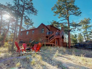 NEW LISTING! Fun-filled getaway w/furnished deck, private hot tub & foosball