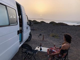 CamperVanFamara & Bano dentro