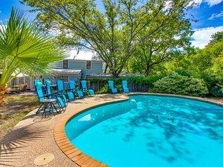 Historical charm & a modern renovation await. Dog-friendly, hot tub & pool!
