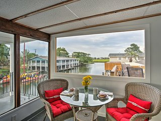 NEW! Waterfront Slidell Home on Bayou w/Boat Slip!
