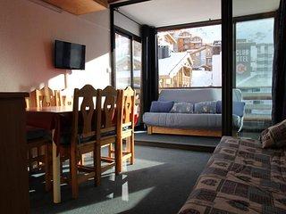 studio cabine pour 5 personnes dans un quartier calme
