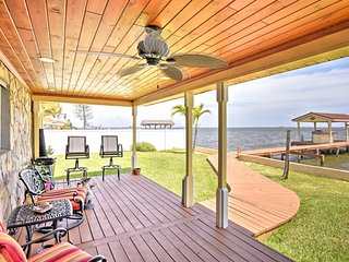 Stunning Waterfront Home w/ Private Dock & Patio!