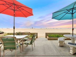 Large Oceanfront Single Family Home with Giant Patio on the Sand!