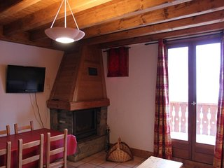 appartement confortable avec cheminée
