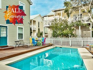 **2018 DISC**Renovated Crystal Beach Home, Priv POOL, Steps2Beach +FREE Perks