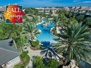 **FALL DISC** UPGRADED + Lagoon Pool, Near Beach + FREE VIP Perks, Trolley +