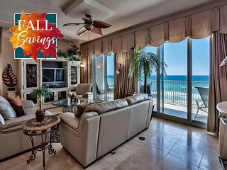**FALL DISC** GULF VIEW Luxury Beach Condo *Resort Pool/Hotub +FREE VIP Perks