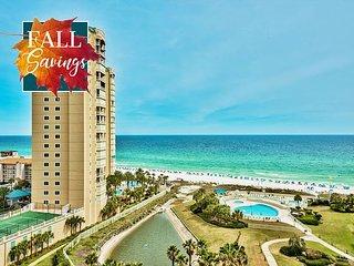 *FALL DISC* GULF VIEW *Beach Resort Pool/Spa! FREE Beach Service + FREE Perks