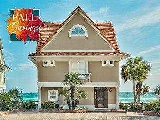 **FALL DISC** BEACH FRONT Beautiful Home + FREE Golf Cart & FREE VIP Perks!!!