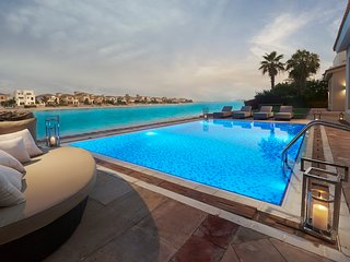 7,000 sq ft Palm's Largest BeachFront Estate
