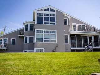 Large four bedroom luxurious home with 2 living areas and private beach access.