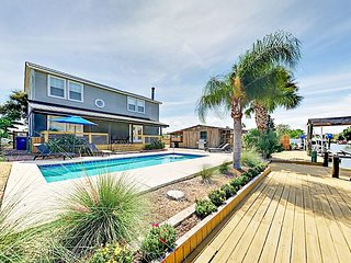 Remarkable 4BR Home on Canal w/ Pool & Private Dock
