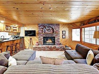 Walk to Snow Summit! Remodeled 3BR w/ Foosball, Porch, Deck & Backyard