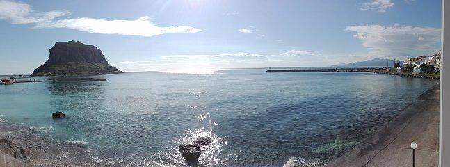 Puede relajarse lugar donde puede tomar en la brisa del mar y las vistas panorámicas