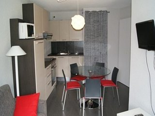 Tres bel appartement au pied des pistes de 3 pieces pour 6 personnes de 40m2