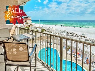 *2018 DISC* BEACH FRONT Updated, GulfView Pool, FREE Beach Service+FREE Perks