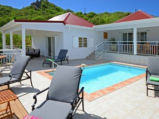 Villa Bonjour  * Ocean View # Located in  Tropical Saint Jean with Private Pool
