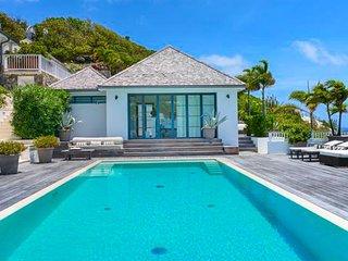 Villa Amalia  # Ocean View * Located in  Wonderful Marigot with Private Pool