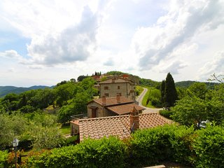 10 bedroom Villa in Molin Bianco-Pian d'Usciano, Tuscany, Italy : ref 5674932