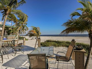 Direct Beachfront Cottage on the North End of Fort Myers Beach