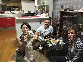 Una experiencia de vivir con una familia de japon en casa de amistad