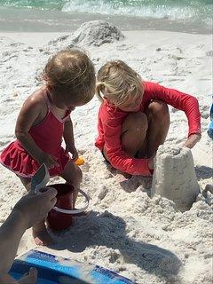 ENJOYMENT!!  The whole family will enjoy the white sugar sand.