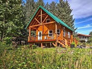 NEW! Private Lakefront Cabin in Stunning Seldovia!