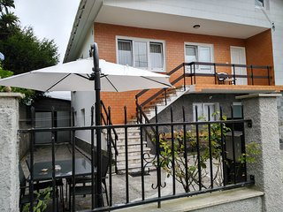 Casa Río Castro, primera línea de playa Almieiras.
