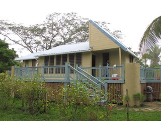 A home in the Community Baboon Sanctuary Belize