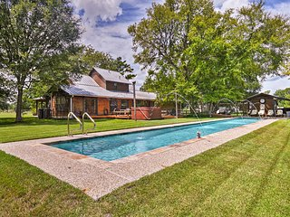 15-Acre Montgomery Home w/ Hot Tub, Sauna & Pool!