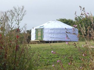 Farm Eco Glamping, 'Hayfield Yurt'