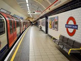 Nearby Shepherds Bush tube station - Central Line. Kensington Olympia station is even closer.