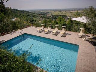 4 bedroom Villa in Montecchio, Tuscany, Italy : ref 5239786