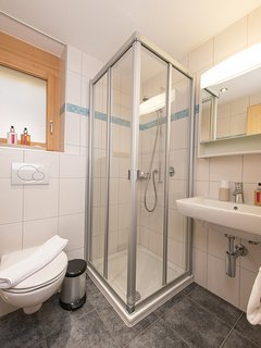 Shower room adjacent to bedroom 2
