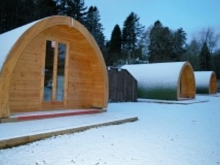 Luxury Pod with Hot Tub at Barrhill Holiday Park 2